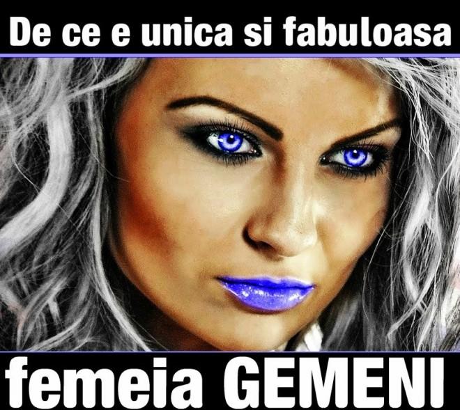 De ce e unica și fabuloasă femeia GEMENI