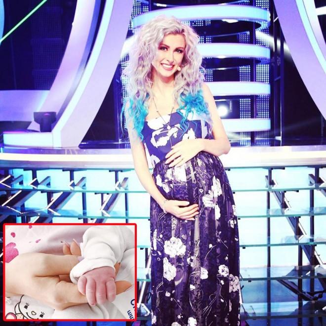 """Andreea Bălan s-a fotografiat alături de fetița ei la maternitate și a făcut imaginea publică! """"Sunt în lacrimi de bucurie!"""""""