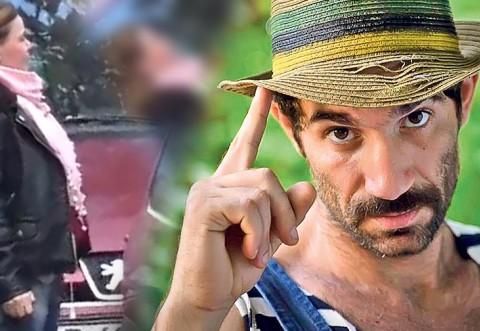 """VIDEO PAPARAZZI / Imagini uluitoare cu soţia lui """"Firicel"""" din """"Las Fierbinţi""""! Femeia circulă prin oraş cu cea mai ieftină maşină"""