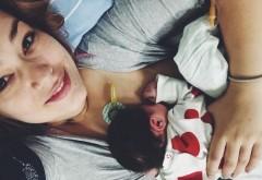 Feli Donose a născut. Artista a devenit mamă pentru prima oară