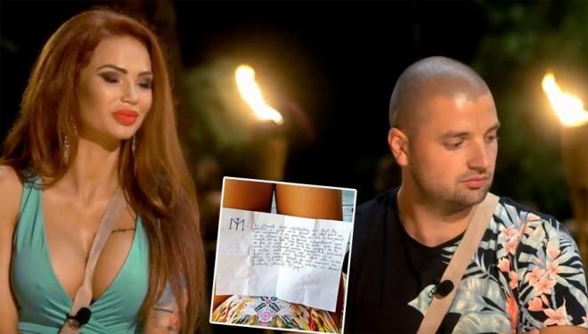 """Bogdan i-a scris ispitei Maria un bilet, cu puțin timp înainte să se însoare! :O Totul a fost făcut public """"Aștept să ..."""""""