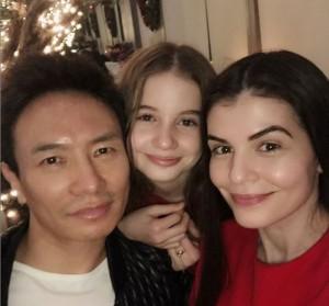 Fotografia care acum câțiva ani era imposibilă! Irina Columbeanu, alături de mama ei, Monica Gabor, și de Mr Pink