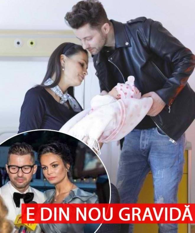 BOMBĂ! Anca Serea e din nou gravida. Sotia lui Adrian Sina, mama pentru a sasea oara