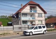 Un român a zidit o Dacia Logan într-unul dintre pereții casei