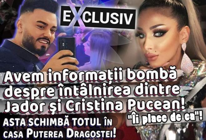 """Avem informaţii bombă despre întâlnirea dintre Jador şi Cristina Pucean! """"Îi place de ea""""! Asta schimbă totul în casa Puterea Dragostei!"""