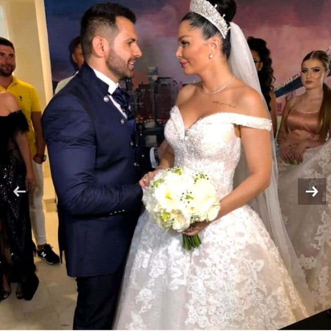 Moment neplăcut la nunta Brigittei Sfăt cu Florin Pastramă