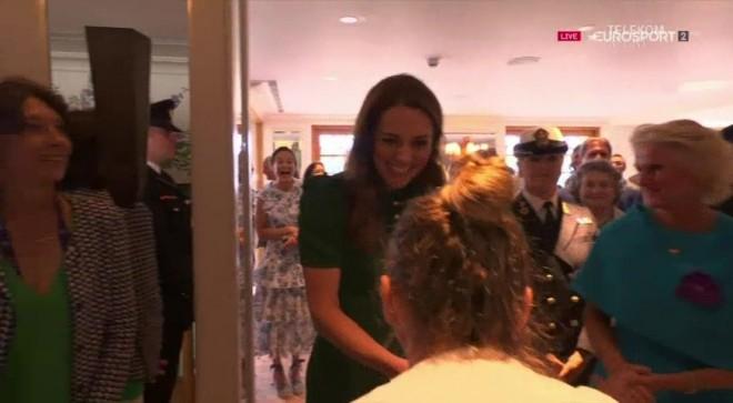 Halep, reverenţă pentru Kate Middleton. Ce i-a spus Ducesa româncei