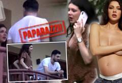 Probleme între Cristina Ich şi Alex Piţurcă? Imagini uimitoare cu viitoarea mămică plângând / VIDEO PAPARAZZI