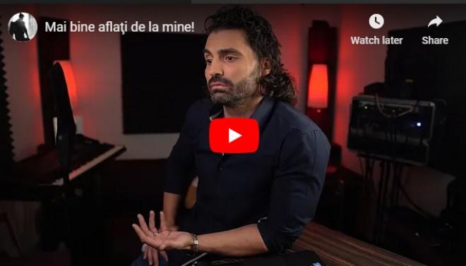 VIDEO Pepe anunță DIVORȚUL de soția sa, Raluca