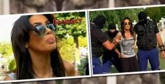 "Imagini CUTREMUR! Oana Zavoranu prinsa cu droguri asupra ei si saltata de mascati. Reactia ei a fost salbatica! ""Baga-mi-as p*&% in catusele tale!"" Uite-o culcata la pamant"