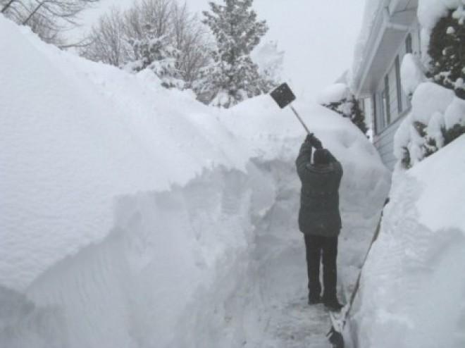 UIMITOR! Ce au făcut mai mulţi tineri cu peste două TONE de zăpadă