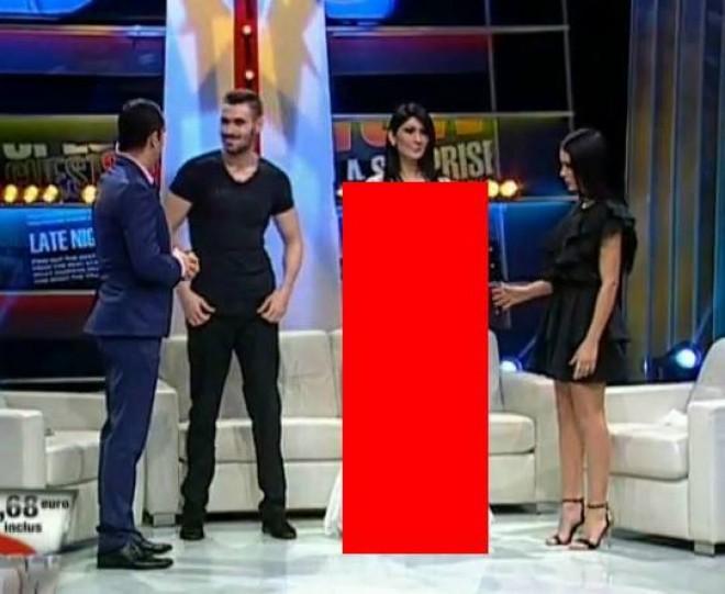Doamne fereste! Cum s-a imbracat Loredana Pastrama intr-o emisiune TV. Avea o rochie pe ea, dar practic era DEZBRACATA