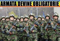 """ȘOC pentru ROMÂNI: ARMATA DEVINE OBLIGATORIE!!   Tinerii sînt gata de RĂZBOI! """"Pun pușca în spate și mă duc!"""" E vestea care bagă spaima în toată țara!"""