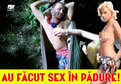 Alina Plugaru a făcut SEX în padure, iar noi avem DOVADA! Imaginile care nu au fost difuzate la TV