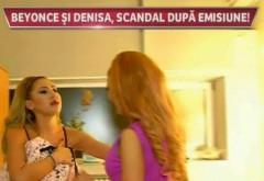 """Beyonce de Romania si Denisa, cearta la cutite dupa emisiune! S-au luat la harta in cabina de machiaj: """"Va rog frumos, luati-o pe ASTA de aici"""""""