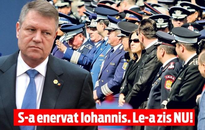 Iohannis și-a pus polițiștii în cap. Nimeni nu se aștepta la asta, toți au rămas fără replică