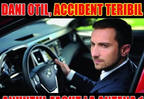 ULTIMA ORA! Doni Oțil, ACCIDENT de mașină!!!  VIDEO cu impactul! Avea 150 km la oră!!!