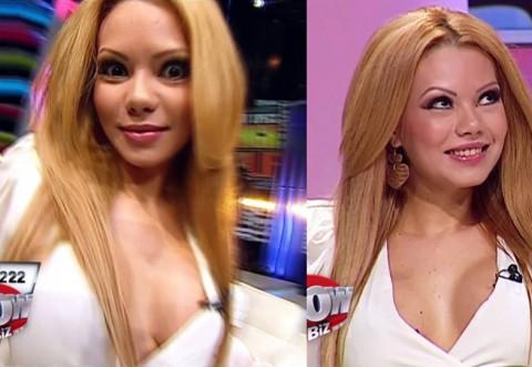 Beyonce de Romania, distrusa si batuta de iubitul ei de 21 de ani! A pus-o sa-si schimbe total look-ul si a umilit-o! Uite-o in ce hal arata acum! Bruneta si nemachiata e horror!!!