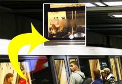 S-a urcat în metrou la Unirii şi a crezut că nu vede bine. Cine călătorea cu oamenii de rând