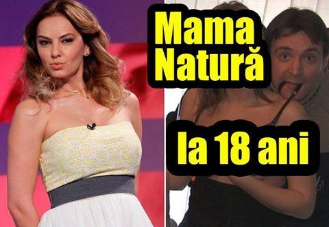 """Așa arăta Roxana Ionescu LA 18 ANI, înainte să devină """"MAMA NATURĂ""""!  IPOSTAZE INDECENTE. Ce îi făcea BUZDUGAN"""