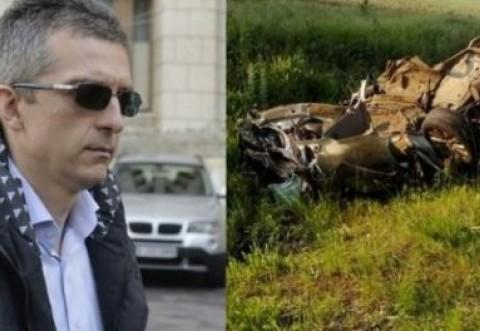 """Fotografiile cu mașina lui Condrea, analizate de un cascador: """"Acest așa-zis accident este o făcătură!"""""""
