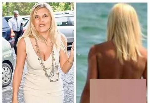 E vară, e soare, este ELENA UDREA! Imagini incendiare cu Elena Udrea la plajă