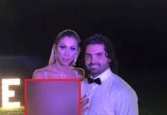 Raluca Pastrama, aparitie de infarct la nunta lui What's Up! Cu decolteul la vedere si un slit sexy, sotia lui Pepe a atras toate privirile