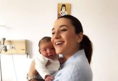 Claudia Pătrăşcanu, prima poză cu nou-născutul!