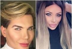 """Cum a reacţionat Bianca Drăguşanu când a dat nas în nas cu """"păpuşa umană"""" Ken, Rodrigo Alves: """"Mi-am dat seama că sunt..."""""""
