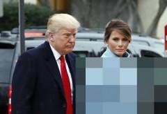 Donald Trump şi soţia sa, Melania, viitoarea primă Doamnă a Statelor Unite, au ajuns la CASA ALBĂ!  Cum s-a îmbrăcat