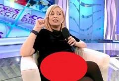 Simona Gherghe, o graviduta super-sexy! Rochia s-a ridicat pe burtica! Ce au putut observa telespectatorii