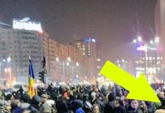 Oamenii au crezut că nu văd bine!  CINE a apărut aseară printre protestatarii din București!