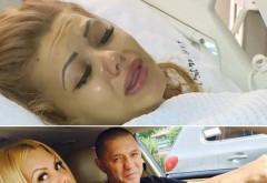 Dumnezeule, e MUTILATĂ! :O Beyonce de România și-a arătat SÂNUL NECROZAT la TV. Imagine șocantă