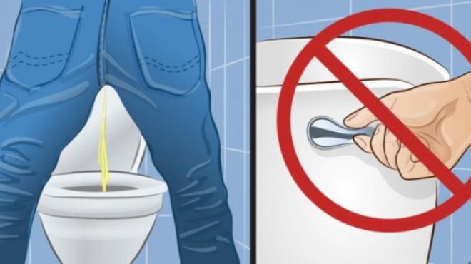 De ce să nu mai tragi apa niciodată după ce urinezi. Nu o să mai faci asta niciodată după ce citeşti!