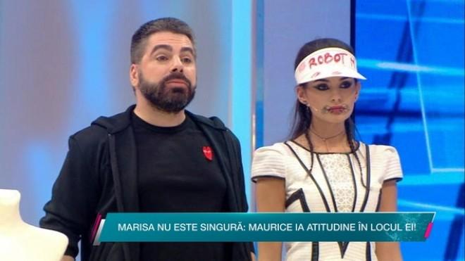 Maurice Munteanu o face varza pe Silvia, in numele Marisei!