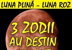 Are loc cea mai importantă Lună Plină – Luna Roz. Jale pentru 3 zodii de AZI.  Nimeni n-ar vrea să fie în locul lor