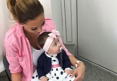 BIANCA DRĂGUŞANU i-a pus gene false fiicei sale! Uite cum arată micuţa SOFIA
