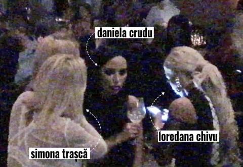 Cruduţa, Loredana Chivu şi Simona Traşcă au atras toate privirile! Brigada-sexy în acţiune!