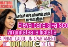A refuzat oferta milionarului asiatic, dar nu se plânge. Eleva care şi-a scos virginitatea la licitaţie a primit cadou un apartament de 100.000 € de la...