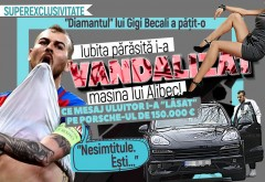 """""""Diamantul"""" lui Gigi Becali a păţit-o. Iubita părăsită i-a vandalizat maşina lui Alibec! Ce mesaj uluitor i-a """"lăsat"""" pe Porsche-ul de 150.000 €. """"Nesimţitule. Eşti…"""""""