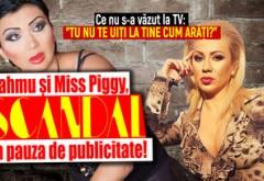 """Bahmu si Miss Piggy, scandal in pauza de publicitate! Macheta: Ce nu s-a vazut la TV: """"Tu nu te uiti la tine cum arati?"""""""