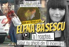 A ieşit din casă nemachiată şi în papuci. Unde am filmat-o pe Elena Băsescu la 1 noaptea… Sigur nu ghiciţi din 10 încercări!
