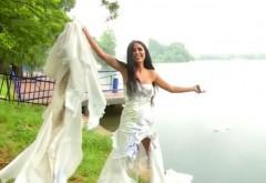 Daniela Crudu vrea cu orice preţ un iubit! Vedeta a distrus o rochie de mireasă de mii de euro:,,Vreau să sparg ghinionul''