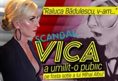 "Scandal! Vica a umilit-o public pe fosta soţie a lui Mihai Albu! ""Raluca Bădulescu, v-am..."""