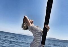 Gina Pistol l-a dat uitarii pe Alin Cocos. Cu cine se distreaza in Grecia, intr-o vacanta de 5 stele