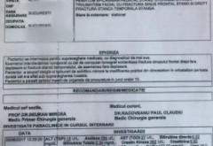 Boureanu, BĂTUT CRUNT de polițiști. DOCUMENT cu diagnosticul INFIORATOR al fostului deputat