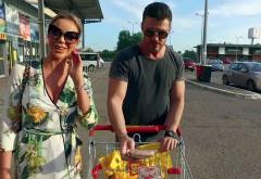 Bianca & Victor Slav cumpărături cu eticheta curată pentru familie