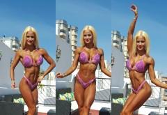 Ea e românca în bikini care ne va reprezenta în America. Ioana e campioana!