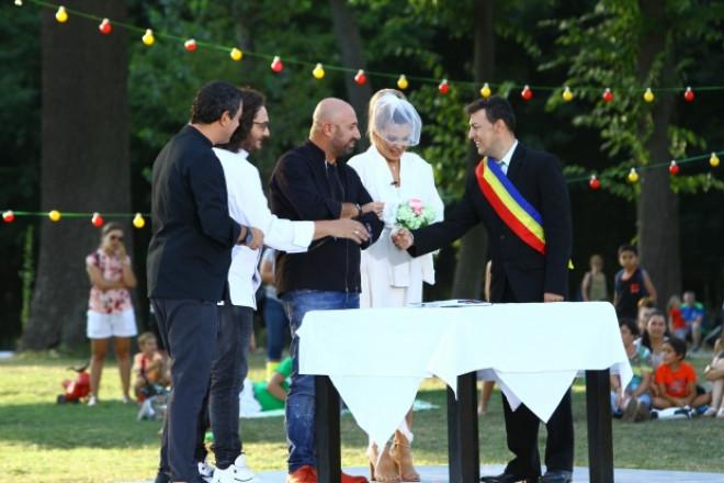 Cătălin Scărlătescu și Gina Pistol s-au căsătorit!