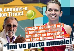 """A convins-o Ion Ţiriac! Decizie de ultimă oră a tenismenei! Am aflat ce investiţie va face Simona Halep… """"Îmi va purta numele!"""""""